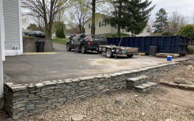 Milford, CT | Stone Retaining Walls | Stone Wall Masonry Construction | Masonry Contractor Near Me