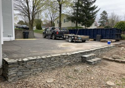 Milford, CT - Stone Retaining Walls
