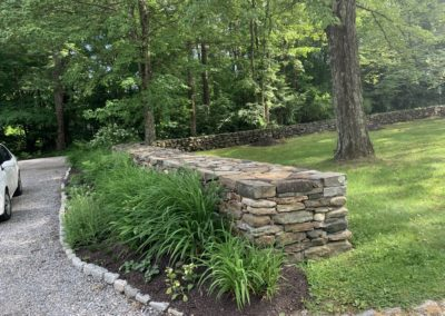Stone Wall Construction in Woodbridge, CT