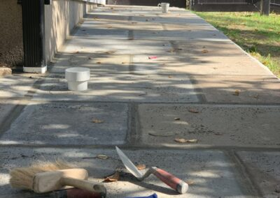 Stone Walkway & Retaining Wall Project in Orange, CT