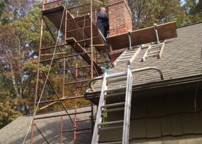 Chimney Construction Project