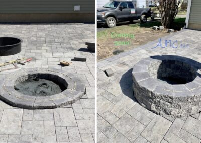Stone Patio & Firepit