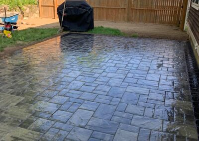 Paver Patio Project in Naugatuck, CT