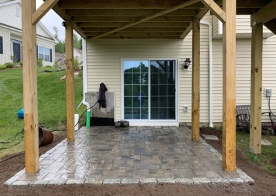 Unilock Patio Paver Project in West Hartford, CT