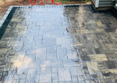 Patio Paver Installation Project in Southington, CT