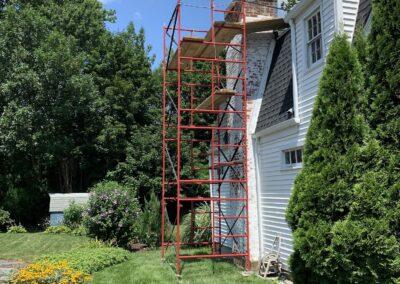 Chimney Restoration and Build in West Hartford, CT